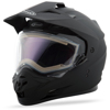 GM-11S Dual-Sport Snow Helmet Matte Blk W/Electric Shield - Size Small