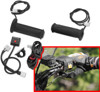 Heated Grips w/ Thumb Warmer - For ATV & Snow w/ 7/8 Bars & Thumb Throttle