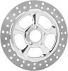 Nitro Floating Front Brake Rotor 330mm Chrome
