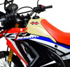 Large Capacity Fuel Tank 3.5 Gallon Natural - For 17-19 CRF250L Rally