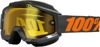 Accuri Gunmetal Snow Goggles - Dual Yellow Lens