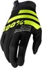 iTrack Gloves - Black & Yellow Fluo Short Cuff X-Large