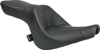 Tourist 2-Up Leather Seat - For 06-17 Harley Softail