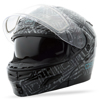 Gm-54S Dsg Aztec Snow Helmet Black Sm