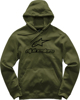 Always Fleece Hoodie Military Large