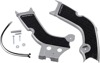 X-Grip Frame Guards Silver/Black - For 20-21 CRF250R/RX & 19-20 CRF450R/RX