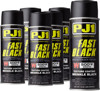 Case of 6 - Fast Black 500f Engine Paint, Wrinkle Texture Finish, 11oz Aerosol