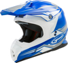 MX-86 Off-Road Revoke MX Helmet Blue/White Small