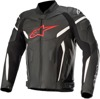 GP Plus v2 Airflow Leather Motorcycle Jacket Black/Red US 50