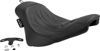 Buttcrack Flame Solo Seat - For 08-17 Harley FLSTC Softail