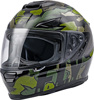 Sentinel Ambush Helmet Camo/Green/Grey Large