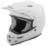 F2 Carbon Solid Helmet White 2XL