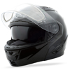 Gm-64S Modular Carbide Snow Helmet Black Xs