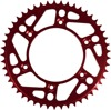 49T Red Aluminum Rear Sprocket - For 85-18 Honda CR CRF 80/80/150