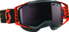 Goggle Prospect Snow Black/Orange Amp Silver Chrome Lens