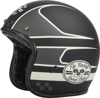 .38 Wrench Motorcycle Helmet Black/Vintage White X-Small
