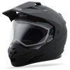 Gm-11S Dual-Sport Snow Helmet Matte Black Md