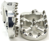 Pro Series Foot Pegs Silver - For Yamaha WR YZ