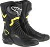SMX-6v2 Vented Street Riding Boots Black/Yellow US 13.5