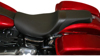 Weekday Smooth Leather 2-Up Seat - For 08-20 Harley FLH FLT