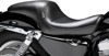 Daytona Sport Plain Vinyl 2-Up Seat - For Harley XL w/4.5g Tank