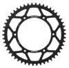 Rear Steel Sprocket 50T Black - For 91-13 Husqvarna