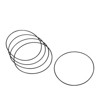 5 Pack Twin Cam Derby Cover O-Ring Gaskets - Replaces 25416-99