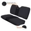 Bench Seat Cover Black - For 10-16 Polaris Ranger