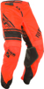 Kinetic Mesh Era Pants Neon Orange/Black Sz 28S