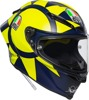 Pista GP R Full Face Street Motorcycle Helmet Blue/Yellow Large