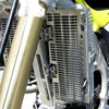 Aluminum Radiator Guard - For 01-05 Yamaha YZ250F 05-06 WR250F