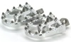 Bmx Style Foot Pegs Silver