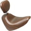 Tripper Smooth Brown Solo Seat w/Backrest - For 18-19 HD FXFB