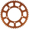 51T Orange Aluminum Rear Sprocket - For 98-13 KTM 60 SX SX XC