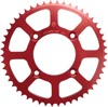 50T Red Aluminum Rear Sprocket - For 85-17 Honda CRF100F CRF125F XR100R