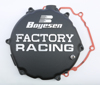 Black Factory Racing Clutch Cover - 05-07 Kawasaki KX250