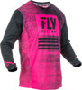 Kinetic Noiz Jersey Neon Pink/Black Youth X-Large