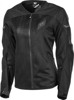 Women's Flux Air Mesh Riding Jacket Black Small