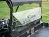 Clear Rear Windshield w/Vent - For 2018 Polaris Ranger 150