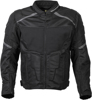 Influx Mesh Riding Jacket Black Small