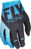 Kinetic Riding Gloves For MX & Off-Road Blue/Black Sz 13
