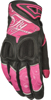 Venus Ladies Riding Gloves Pink/Black XL