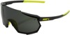 Racetrap Sunglasses Gloss Black/Yellow w/ Gray Lens