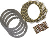 Dirt Digger Complete Clutch Kit Frictions, Steels, & Springs - For 86-87 ATC200X