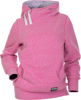 Side Tie Hoodie Pink Medium