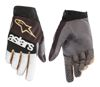BATTLE BORN RACEFEND GLOVES BLACK/SILVER/GOLD 2X