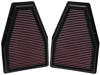 Replacement Air Filter - 2 PER BOX - For Porsche 911 3.4L-H6
