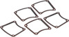5 Pack Inspection Cover Gaskets - Steel w/ Bead - Replaces 34906-85