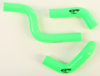 Radiator Hose Kit Green - For 14-19 Kawasaki KX85 KX100