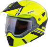 EXO-AT950 Teton Cold Weather Helmet Hi-Vis/Black X-Small